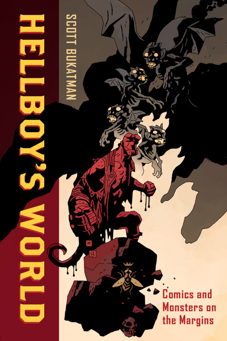 Cover of book Hellboy's World by Scott Bukatman