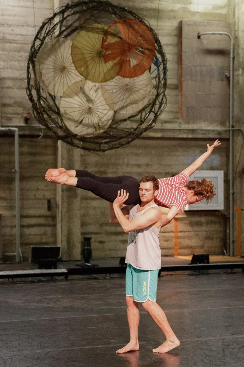 Dancers Ben Cohn and Judith Syrkin-Nikolau