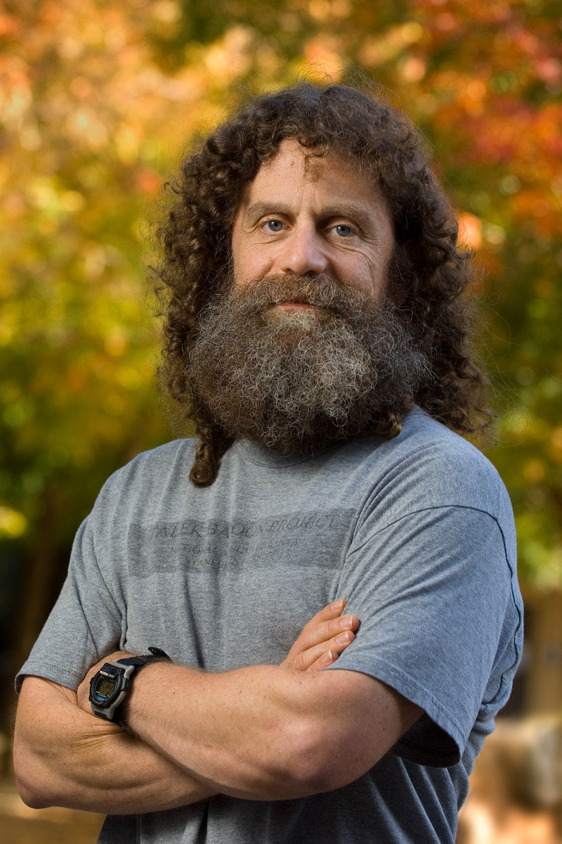 portrait of Robert Sapolsky