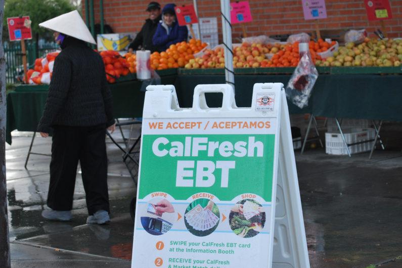 CalFresh sign