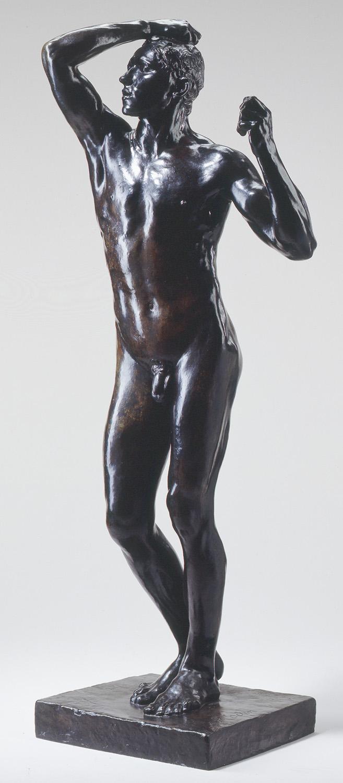 "Rodin's ""Age of Bronze."""