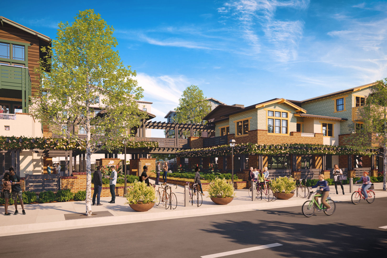 Middle Plaza Project Moves Ahead