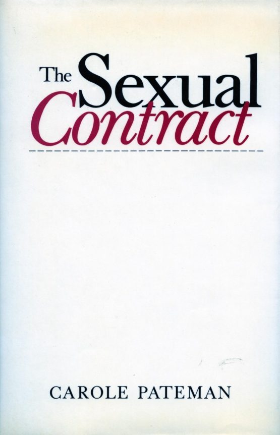 The Sexual Contract, published in 1988, is considered to be a classic work of political philosophy.
