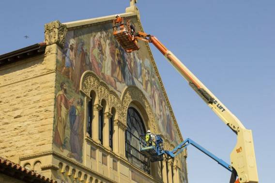 Memorial Church restoration