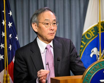 Steven Chu (Photo: U.S. Department of Energy)
