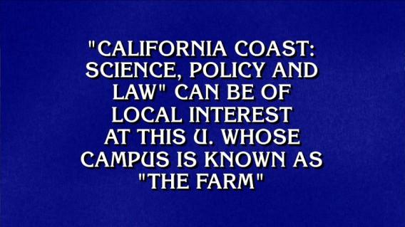 Stanford on Jeopardy