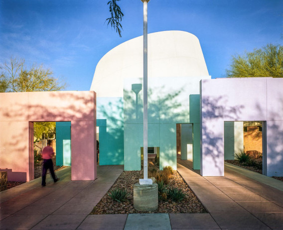 Entrance, Rainbow Branch Library, Las Vegas.