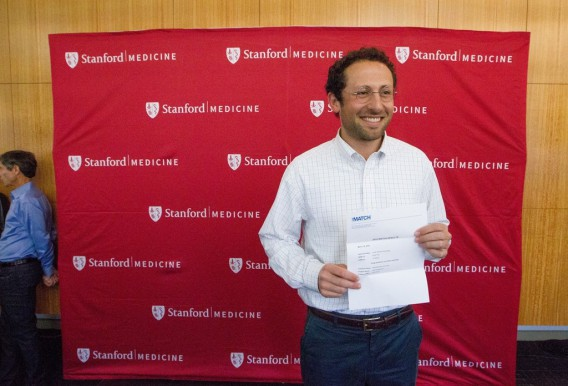 On Match Day, Jacob Rosenberg learned he will be doing a residency in internal medicine at Massachusetts General Hospital. Norbert von der Groeben