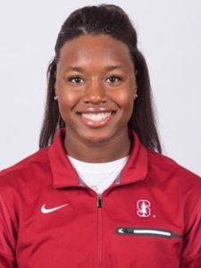 Stanford swimmer Simone Manuel