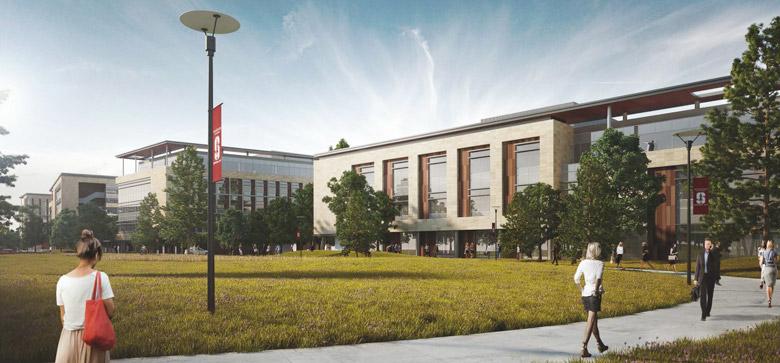Redwood City campus concept