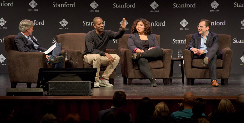 Stanford alumni: Passion and perseverance key to