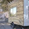 Mobile art studio on wheels