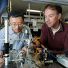 Scientists Leo Yu and Carsten Langrock