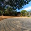 labyrinth at Windhover contemplative center / L.A. Cicero