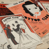 programs and sheet music from the Cotton Club / L.A. Cicero