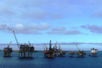 Offshore oil fields