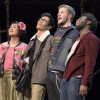 some student cast members of Rent / L.A. Cicero