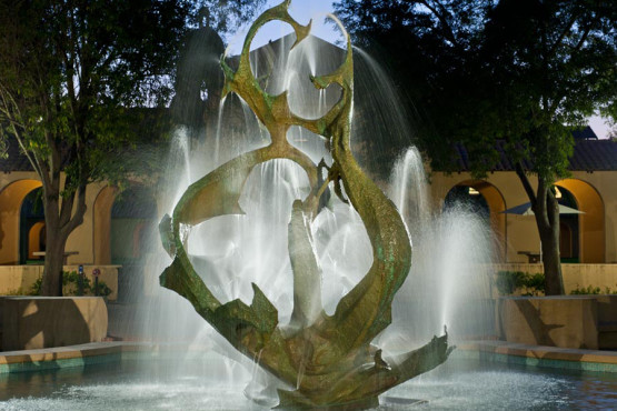 Memorial Fountain, White Plaza