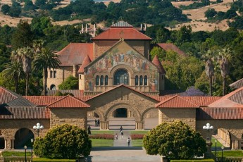 Stanford's main quad