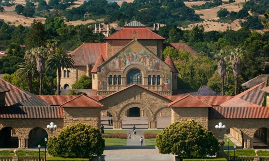 Stanford's main quad