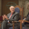 John Hennessy in conversation with Jane Shaw in Memorial Church
