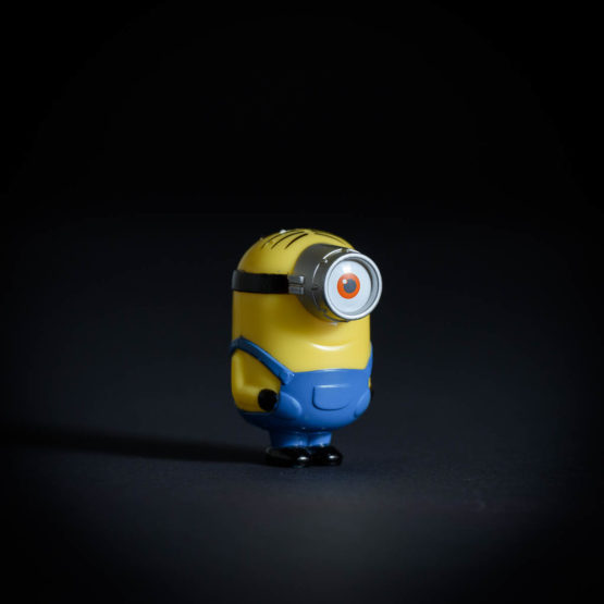 "Minion toy from Disney's ""The Minions"" movie."