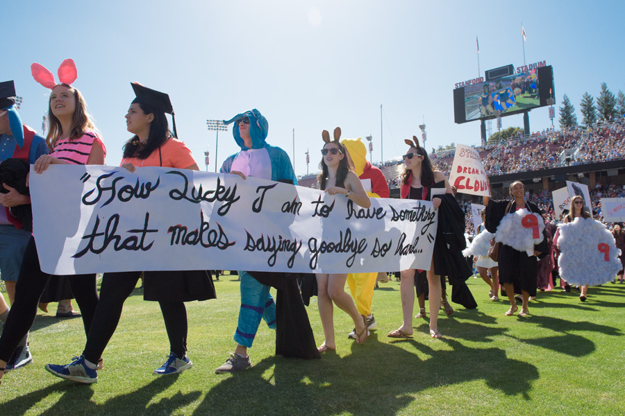 stanford commencement 2016 wacky walk stanford news
