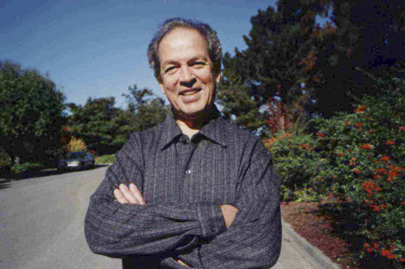 2003 photo of Solomon Feferman standing outdoors