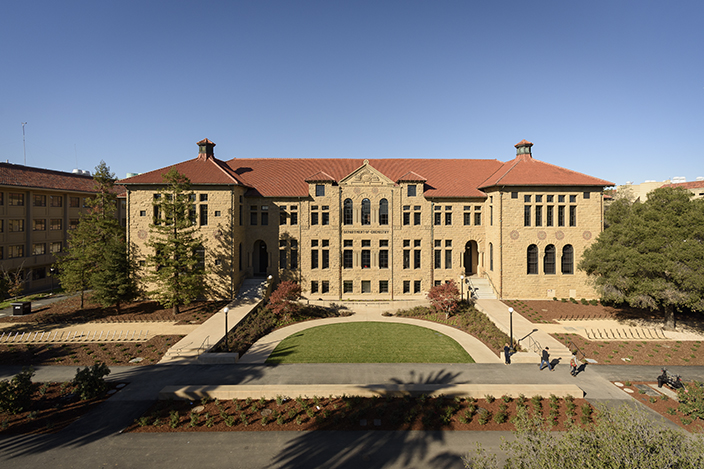 front facade of Sapp Center for Science Teaching and Learning, Old Chemistry Building