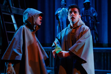 In a production of Shakespeare's The Tempest, Susi Arguello and Isaac Goldstein find themselves in the eye of the storm.