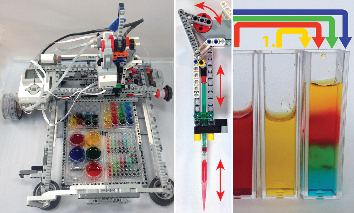 Adapting A Diy Robot Kit To Fill Test Tubes Stanford News