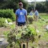 Paa Adu on farm