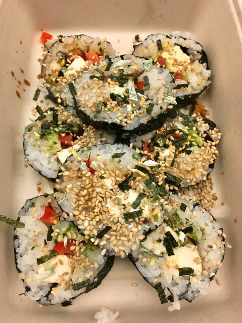 Vegan maki (sushi)