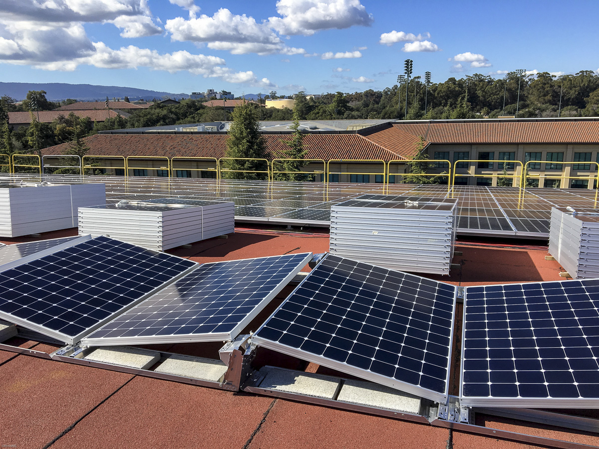 Sun + rooftop photovoltaic panels = electricity for ...