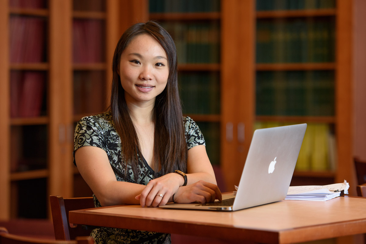 Patricia Chen is lead author on a paper that shows that a psychological intervention that encouraged students to use available study resources in a strategic way made them more likely to perform better in class.