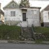 run-down houses