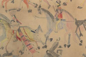 Red Horse (Minneconjou Lakota Sioux, 1822-1907), Untitled