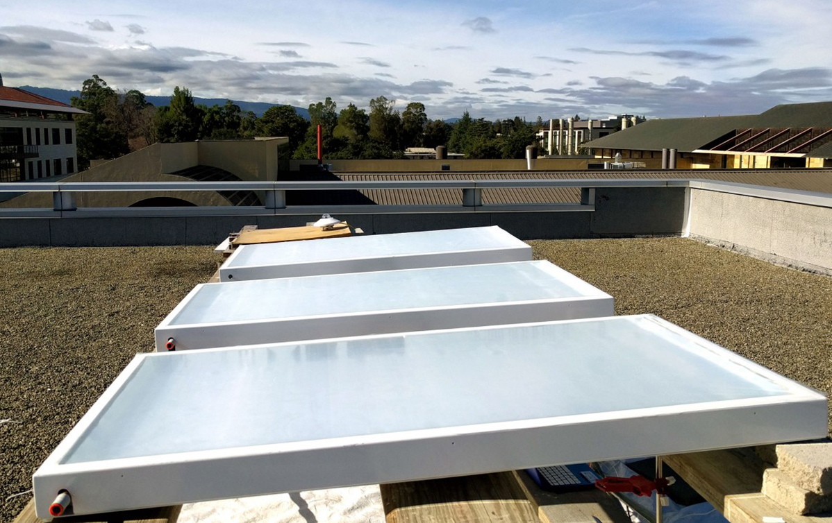 Sending excess heat into the sky | Stanford News