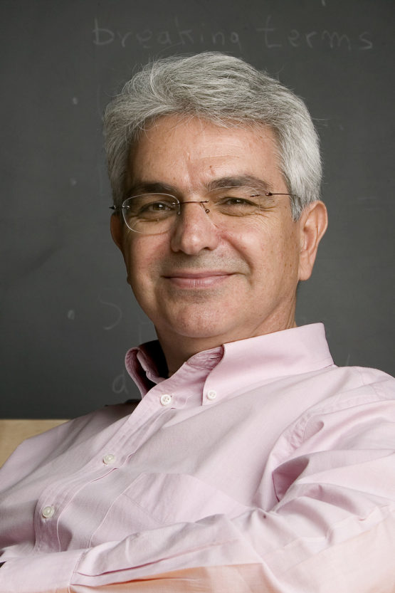 Savas Dimopoulos, the Hamamoto Family Professor in the School of Humanities and Sciences; professor of physics
