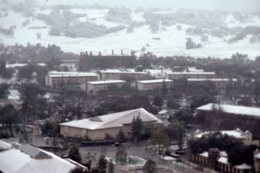 Snow in 1976
