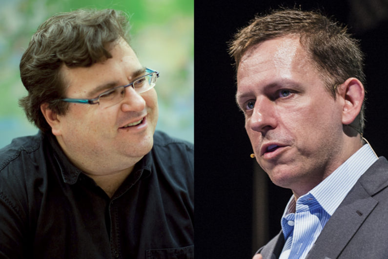 Reid Hoffman and Peter Thiel