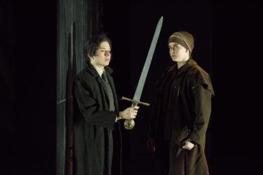 Eliseo Valerio (Clotaldo) and Fiona Maguire