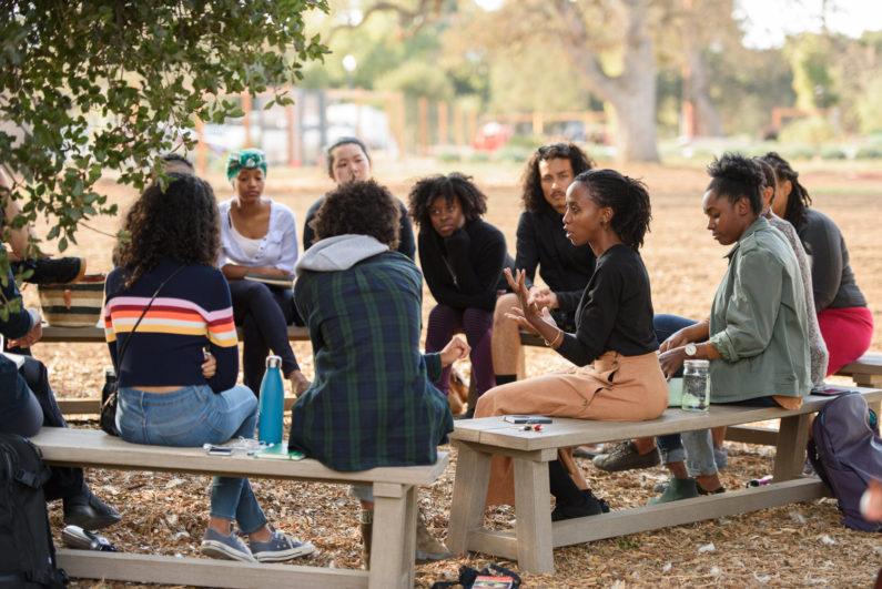 Students meet with Brenda Mutuma