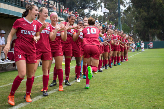 Stanford's women's soccer team