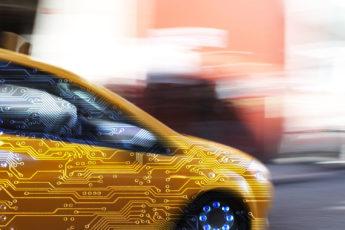 representation of an autonomous car
