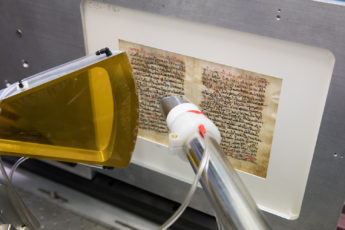An international, multidisciplinary team is using X-rays from SLAC to reveal the hidden text of a medical manuscript by the ancient Greek doctor Galen that was written on parchment in the 6th century and scraped off and overwritten with religious text in the 11th century.