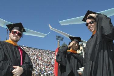 Three aero-astro graduates