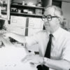 Eric Shooter in his laboratory ca. 1992
