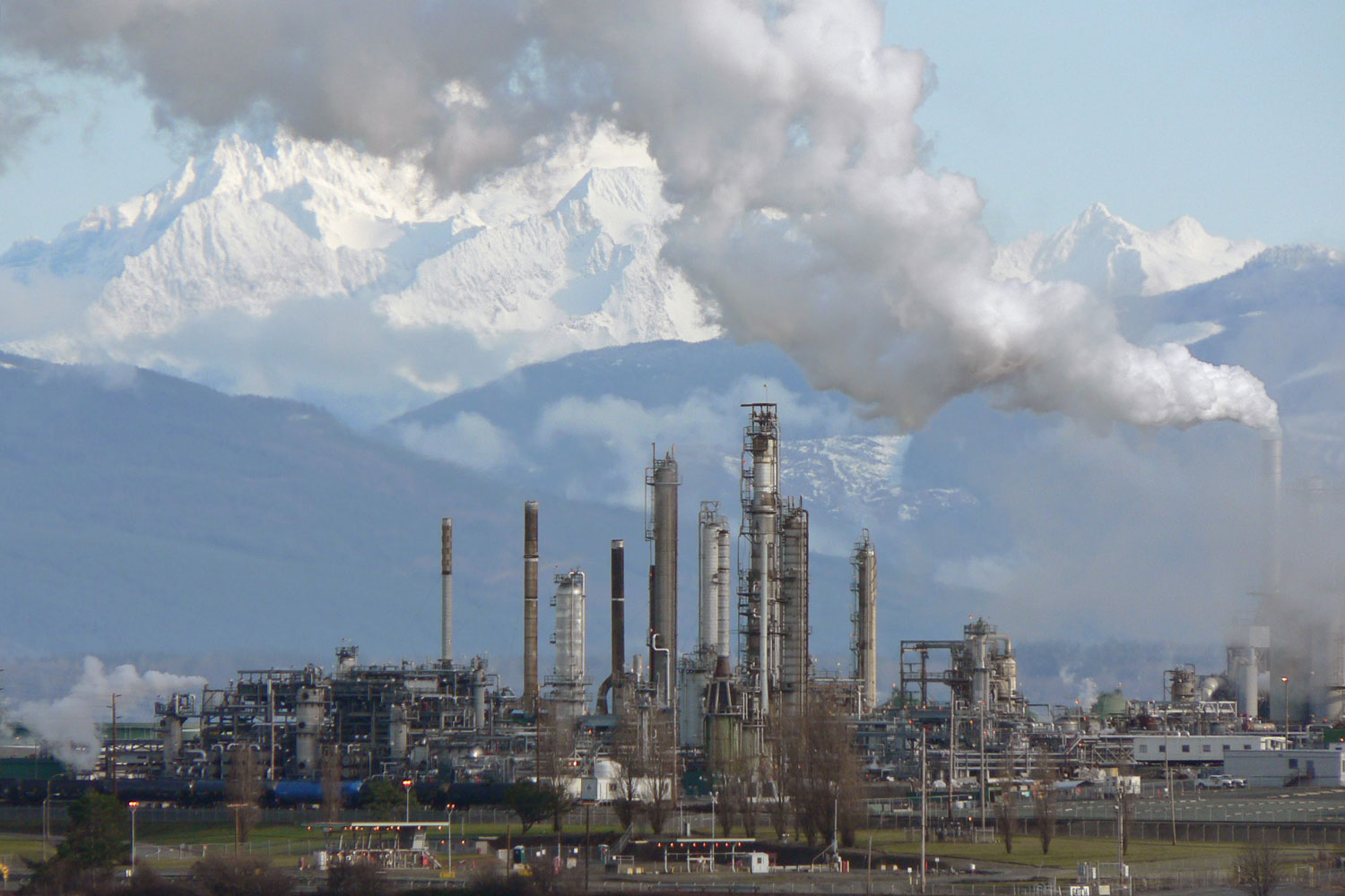 oil refinery in Anacortes, Washington