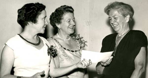Mabel Newcomer in 1953